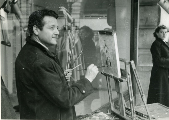 Painting in London