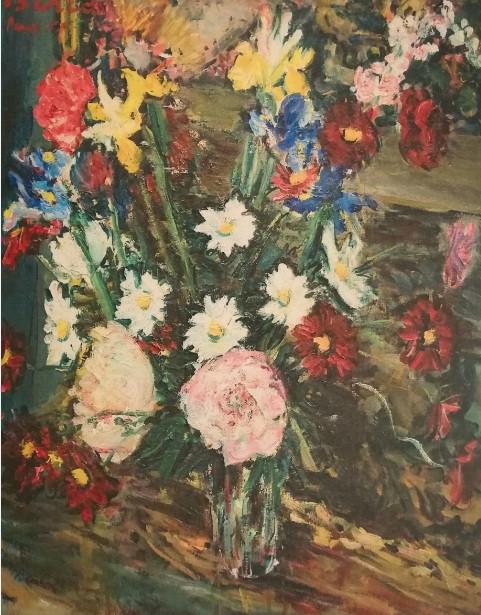 Flowers, Paris, 1955