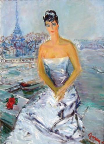 Merle Oberon, Paris, 1963