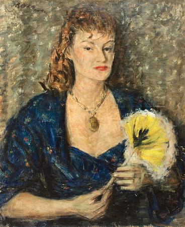 Portrait, Rome, 1942