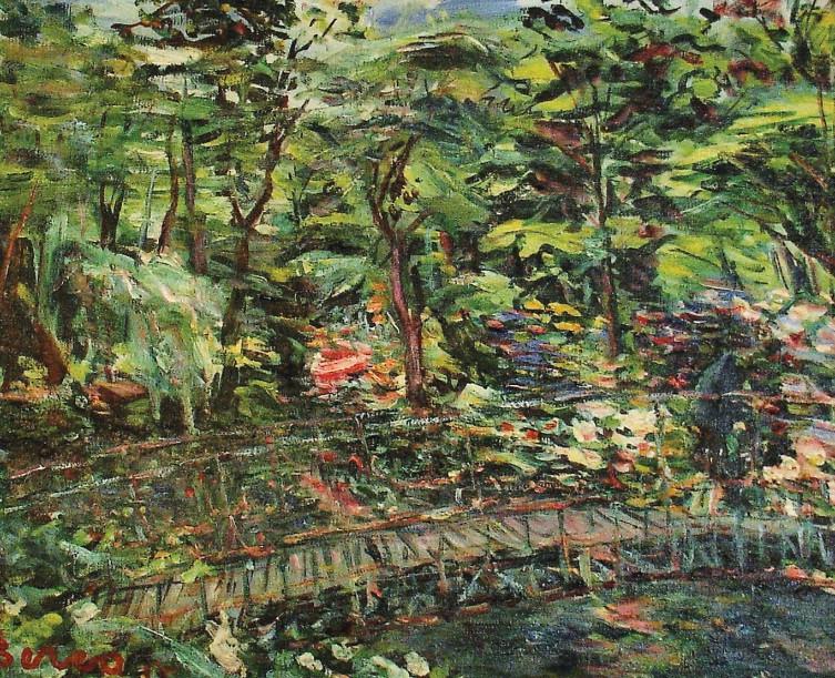 Le petite pont Moulins, 1955