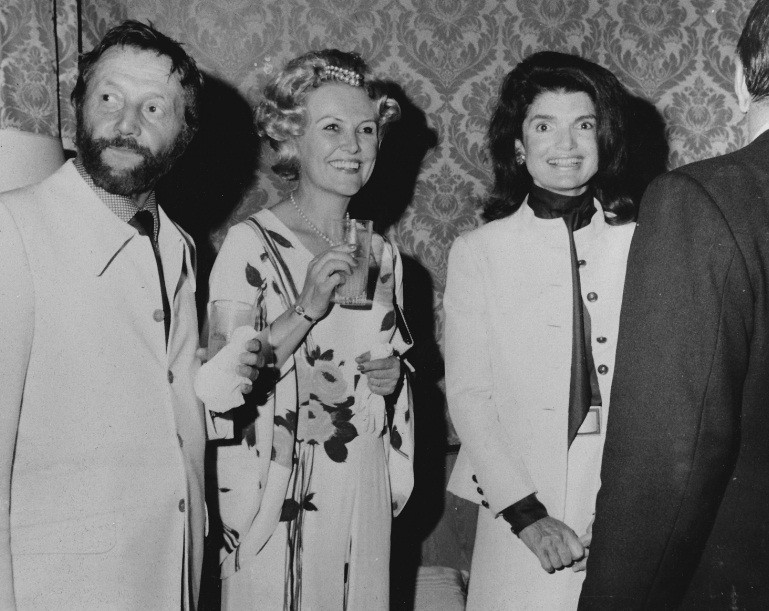 @ his wedding with Alice and with Jackie Kennedy Onassis