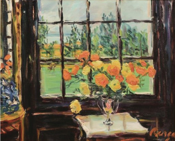 Flowers by the window, 1968
