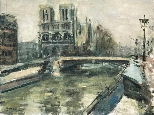 Notre Dame, Paris, 1939