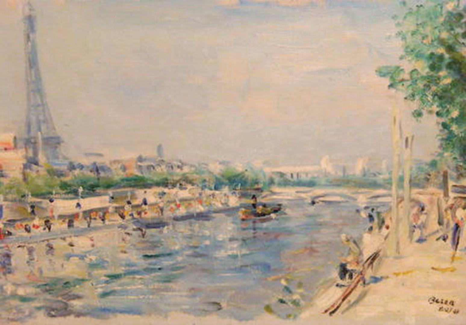 La Seine a Paris, 1947