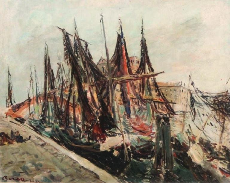 Boats at Chioggia, Venice, 1951