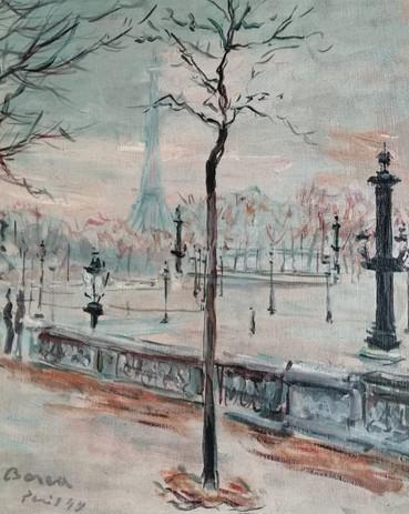 Autumn in Paris, 1949