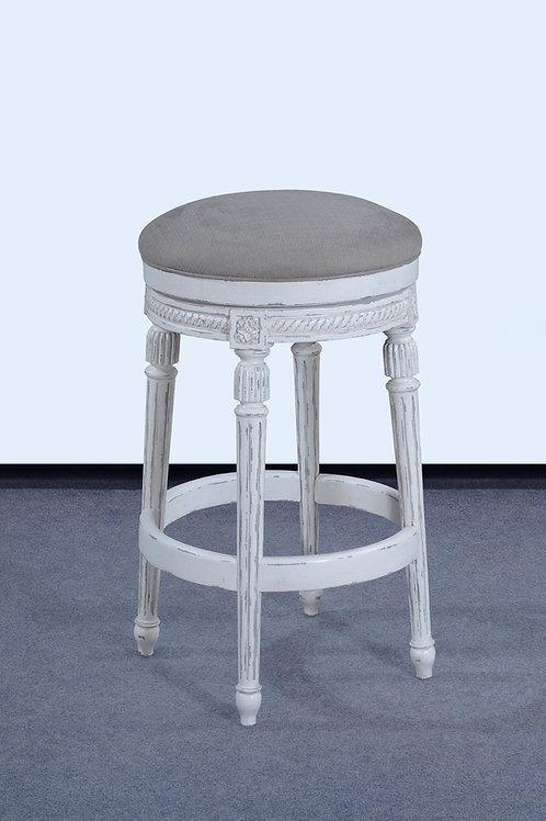 LR.88.LP - Backless Paris Swivel Bar Stool