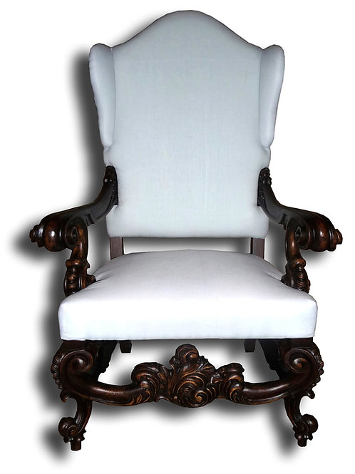 LR.45.M - Baroque Throne Chair