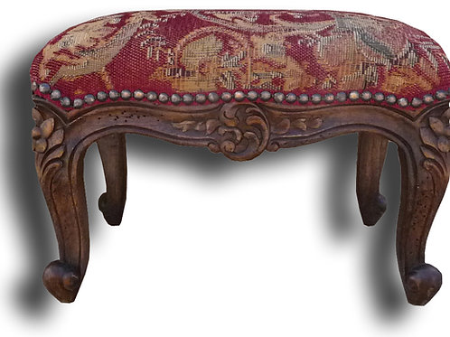 C.FR.58.1.10 - Four Leg Country French Footstool