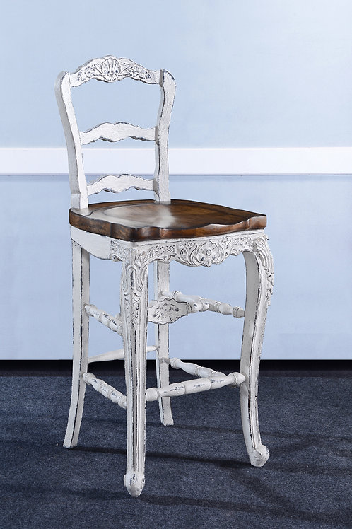 C.FR.W.26.2 - Country French Bar Stool
