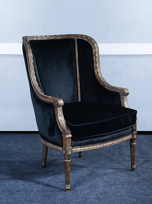 LR.82.AG - Louis XVI Bergere Chair