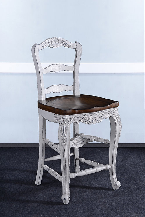 C.FR.W.26.1 - Country French Counter Stool