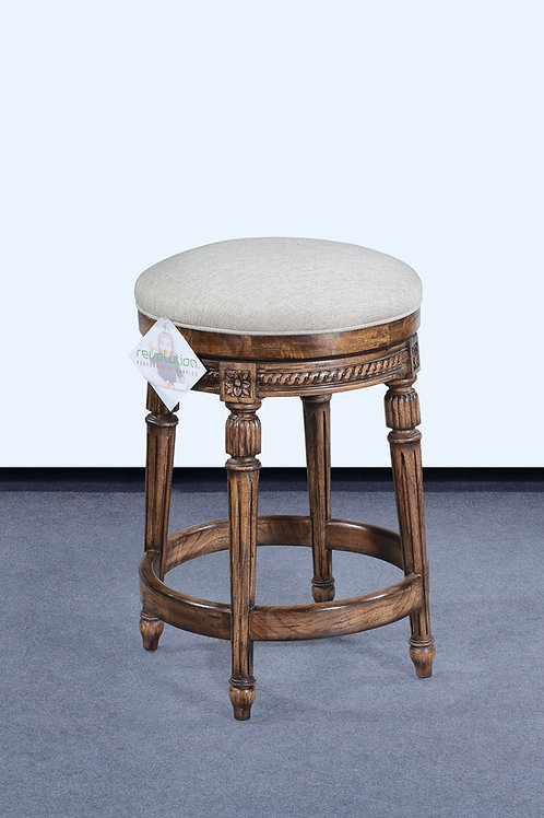 LR.84.RML - Backless Paris Swivel Counter Stool
