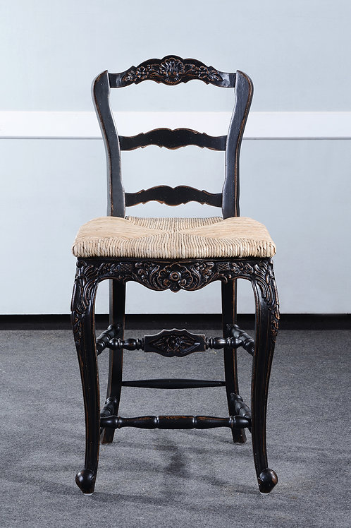 C.FR.26.2.B - Country French Bar Stool