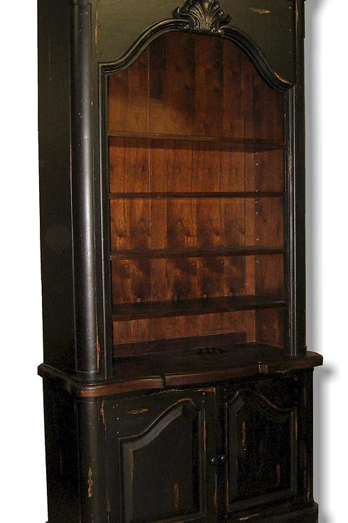 C.21.B - Provincial Bookcase With Shell