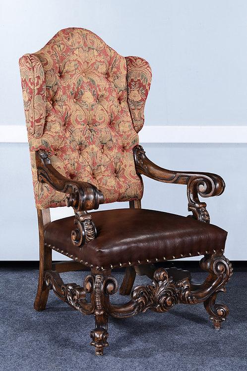 LR.45.10L - Baroque Throne Chair