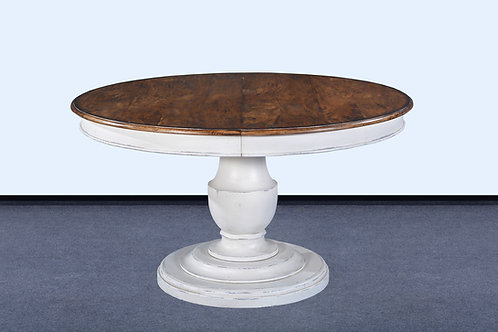 T.94.AW - Scottsdale Dining Table With Leaf 54""