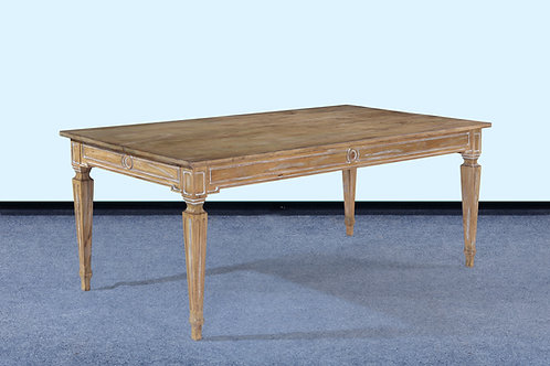 "T.98.BW - Swedish Dining Table [84""]"