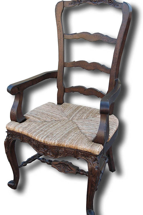 C.FR.23.A - Tall Country French Arm Chair