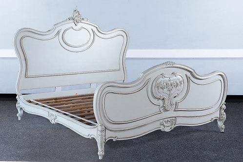 BRK.140.NW - Louis XV Bed [King]