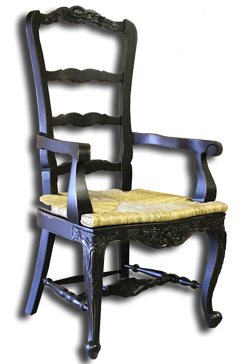 C.FR.23.A.B - Tall Country French Arm Chair