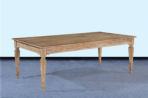 "T.99.BW - Swedish Dining Table [96""]"