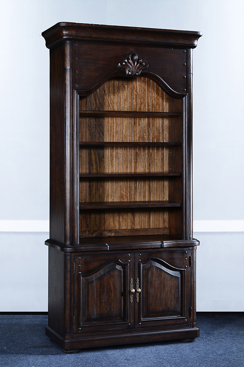 C.21 - Provincial Bookcase With Shell