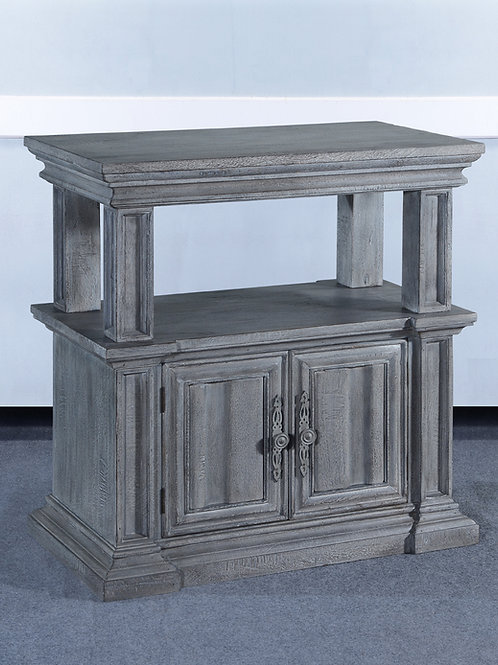 NS.95.V - Cathedral Nightstand
