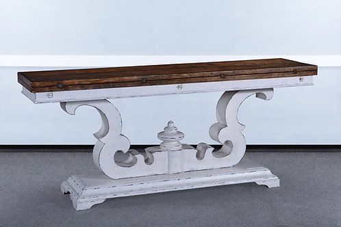 T.65.AW - Cambridge Flip Top Sofa Table 72""