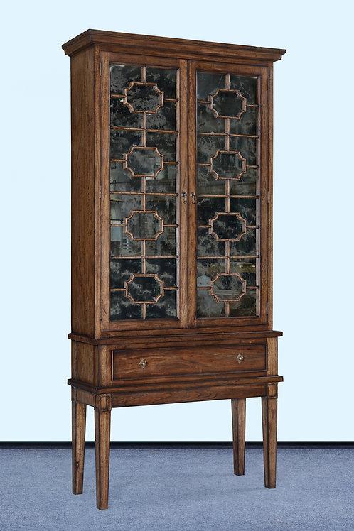 C.65.R - Bella Cabinet [Antiqued Mirror Doors]