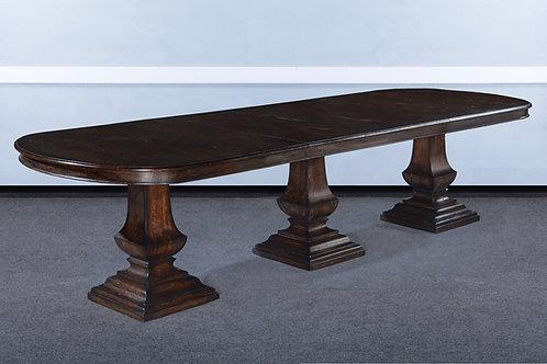 "T.83.DK- Triple Pedestal Pastry Table [130""]"