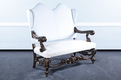 LR.67.M - Baroque Throne Settee
