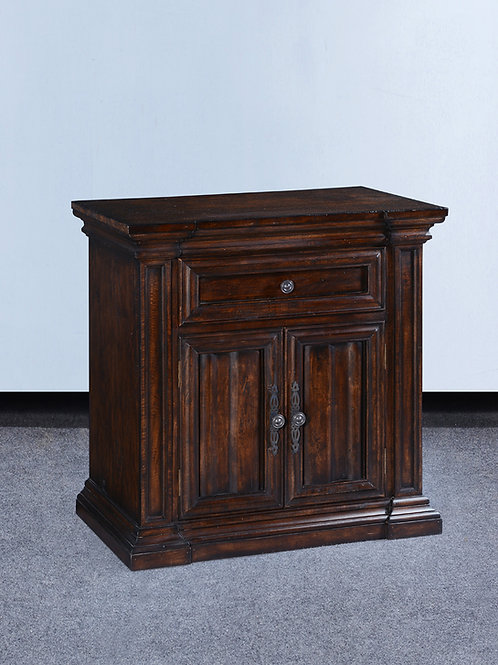 NS.161.DK - Cathedral Nightstand