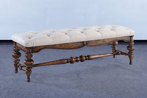 OC.97.R - Portico Bench With Upholstery