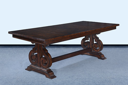 T.95.DK - Cambridge Table With Butterfly Leaf 84""