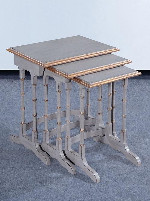 OC.116.PG - Bamboo Nesting Tables