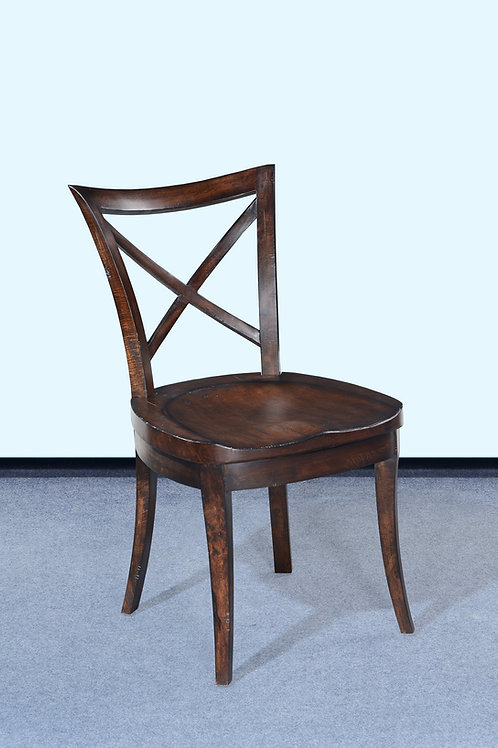 SC.79.DK - Cafe X Back Side Chair