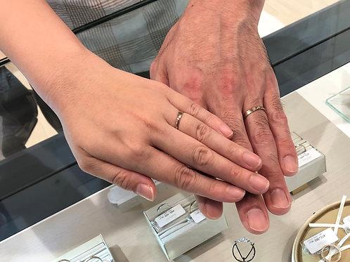 とても素敵な指輪に