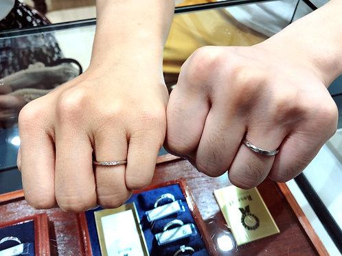 素敵な指輪に