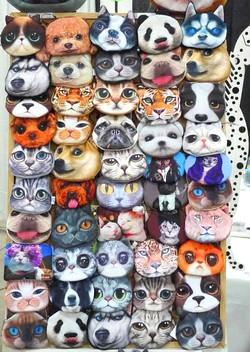 Cute 3D Animal Face Purses