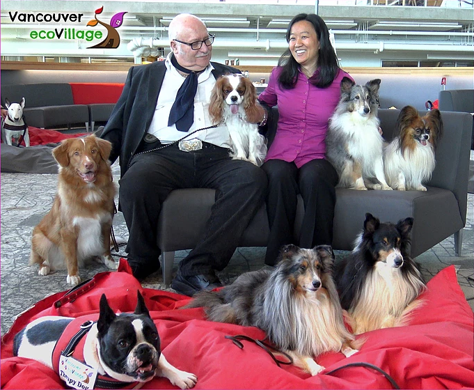 UBC Welcomes Therapy Dogs