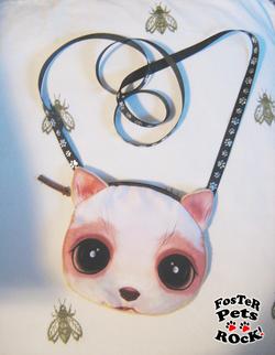 Detail: each purse has string