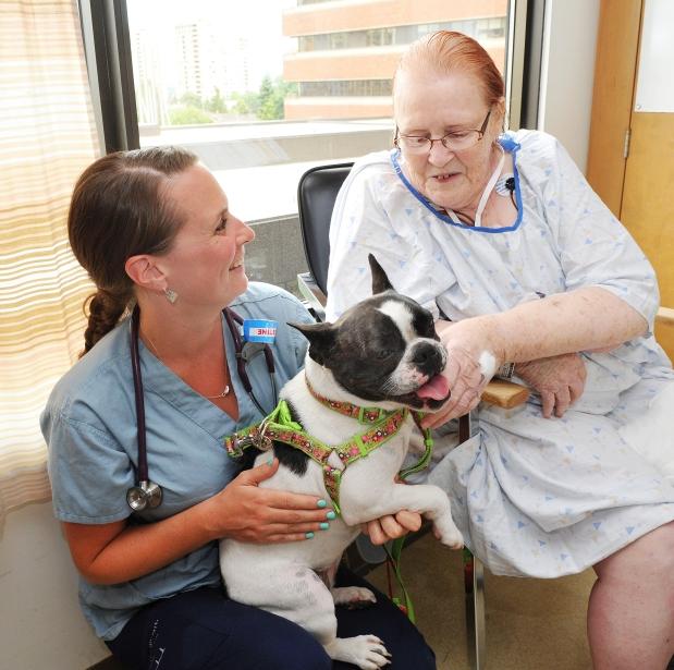 Nurse Robbin/Patient Frances Spooner