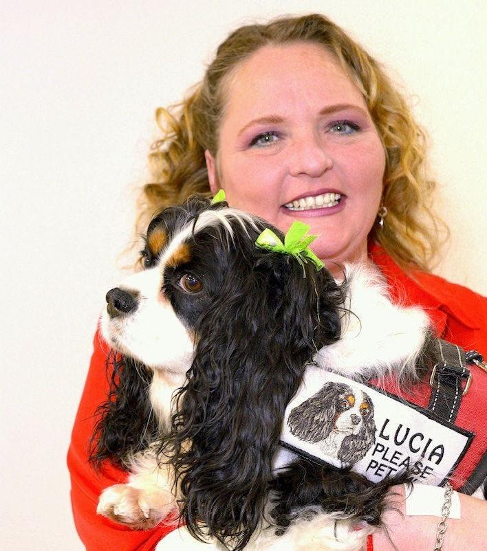 LUCIA (KC Cavalier) & Paula