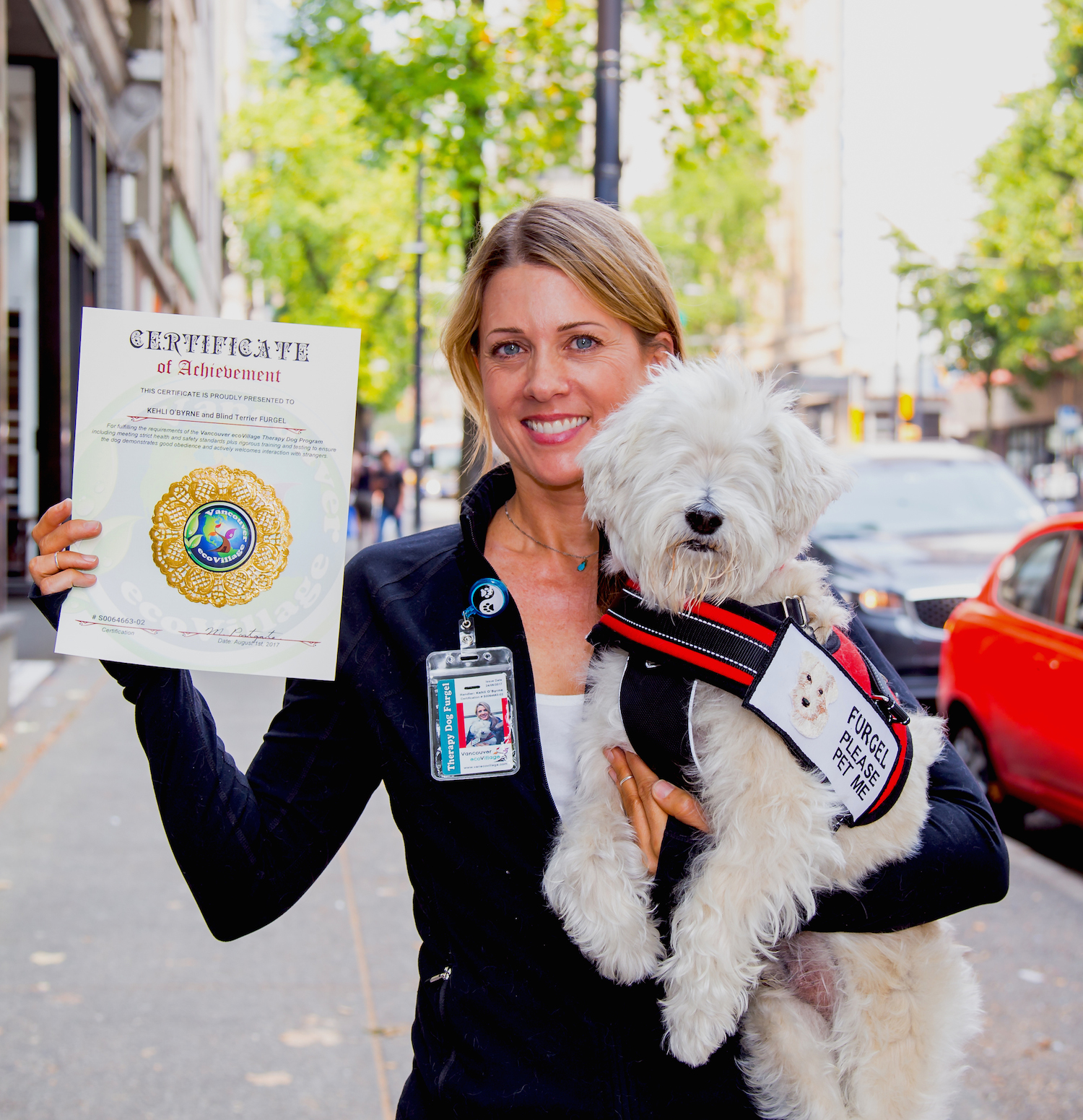 New Certified Therapy Dog Teams