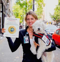 Kehli O'Byrne and Blind Dog FURGEL
