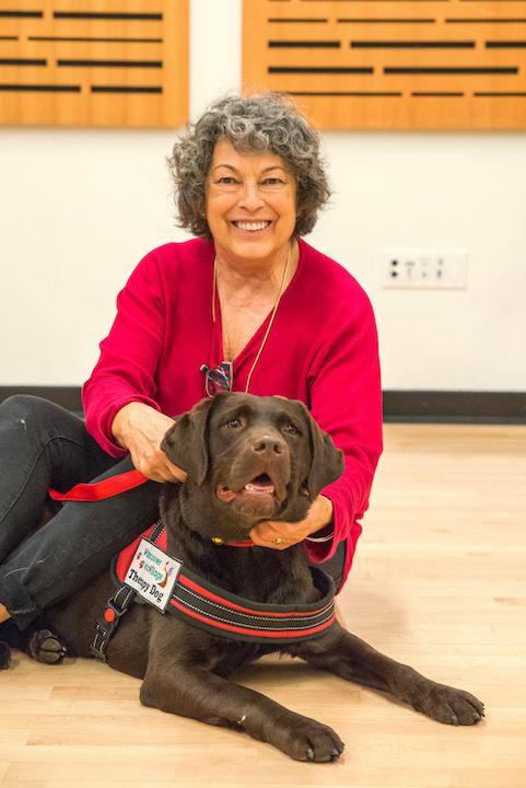 GRACIE (Labrador) & Marcia