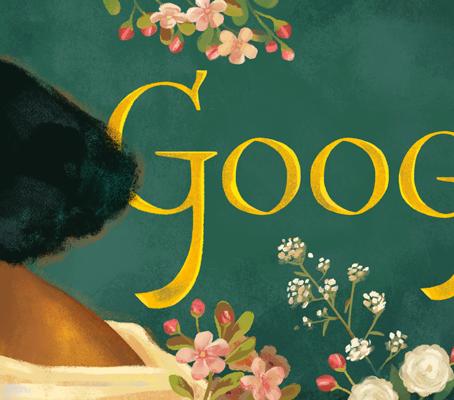 Google Doodle celebrates Pre-Raphaelite artists' model Fanny Eaton