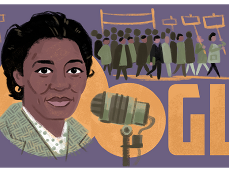 Google Doodle celebrates Claudia Jones during Black History Month UK